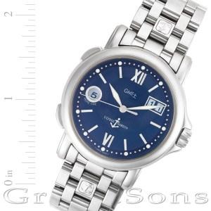 Ulysse Nardin GMT-Master II 223-88 stainless steel 38mm auto watch