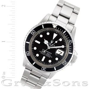 Rolex Submariner 1680 stainless steel 40mm auto watch