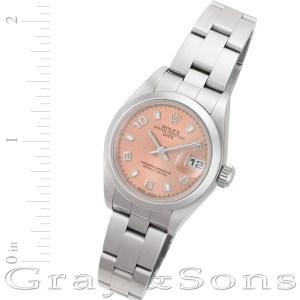 Rolex Date 79160 stainless steel 26mm auto watch