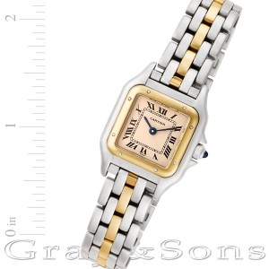 Cartier Panthere W25029B8 18k & steel 22mm Quartz watch