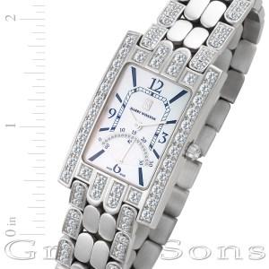 Harry Winston AVENUE 310uqsrw-008262 18k white gold 26mm Quartz watch