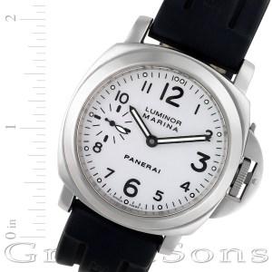 Panerai Luminor Marina pam 113 stainless steel 44mm auto watch