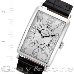 Franck Muller Long Island 1200.SC.REL.OG 18k white gold 32mm auto watch