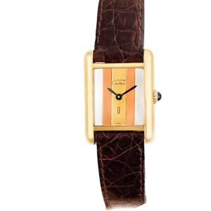 Cartier Tank Vermeil vermeil 20mm Manual watch