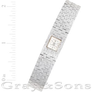 Rolex Classic 2365 18k white gold 12mm Manual watch