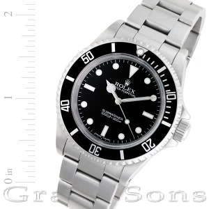 Rolex Submariner 14060 stainless steel 40mm auto watch