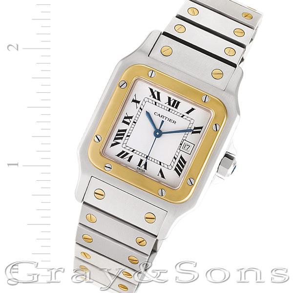 Cartier Santos W20058C4 18k & steel 29mm auto watch