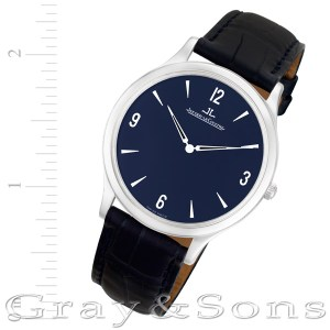 Jaeger LeCoultre Master Control 145.6.79.s platinum 33mm Manual watch