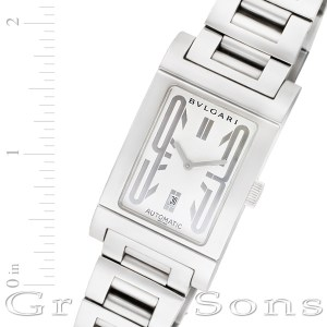 Bvlgari Rettangolo rt 45 s stainless steel 26mm auto watch