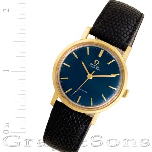 Omega De Ville 18k 30mm auto watch
