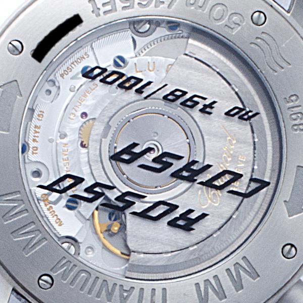 Chopard Mille Miglia 8915 titanium 39mm auto watch