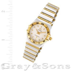 Omega Constellation 18k & steel 22mm Quartz watch