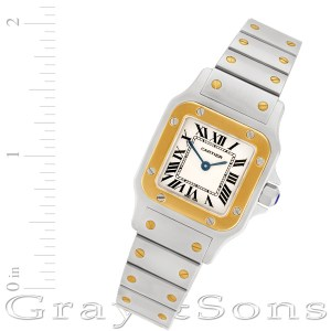 Cartier Santos W20012C4 18k & steel 26mm Quartz watch