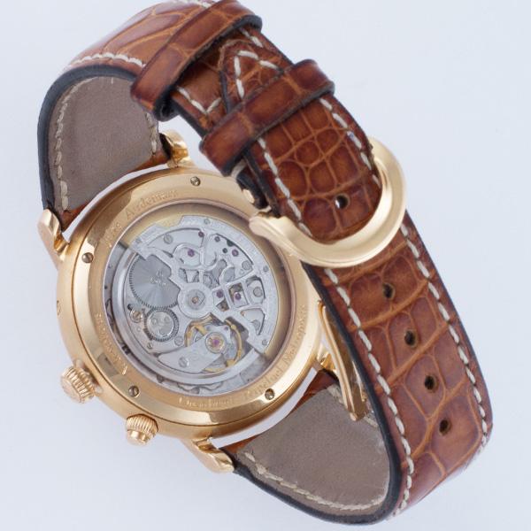 Audemars Piguet Metropolis 18k rose gold 39mm auto watch