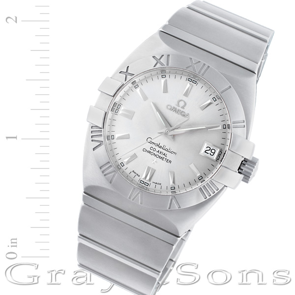 Omega Double Eagle 12310382102001 stainless steel 38mm auto watch