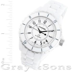 Chanel J12 H0970 ceramic 38mm auto watch