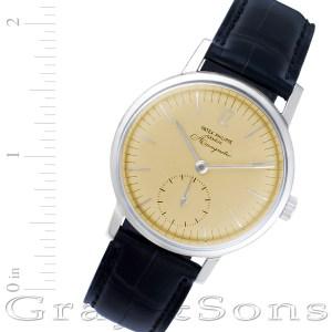 Patek Philippe Amagnetic 3417 stainless steel mm Manual watch