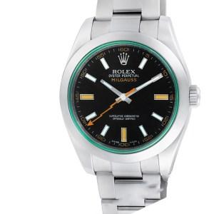 Rolex Milgauss 116400V stainless steel 40mm auto watch