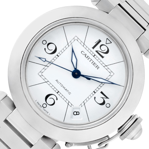 Cartier Pasha C W31074M7 stainless steel 36mm auto watch