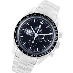 Omega Speedmaster stainless steel 42mm auto watch