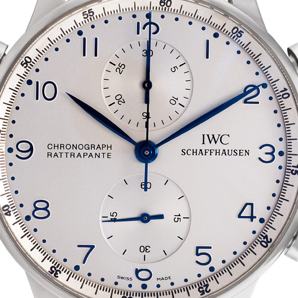 IWC Portuguese 3712 18k white gold 41mm Manual watch