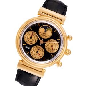 IWC Da Vinci 3750 18k rose gold 39mm auto watch