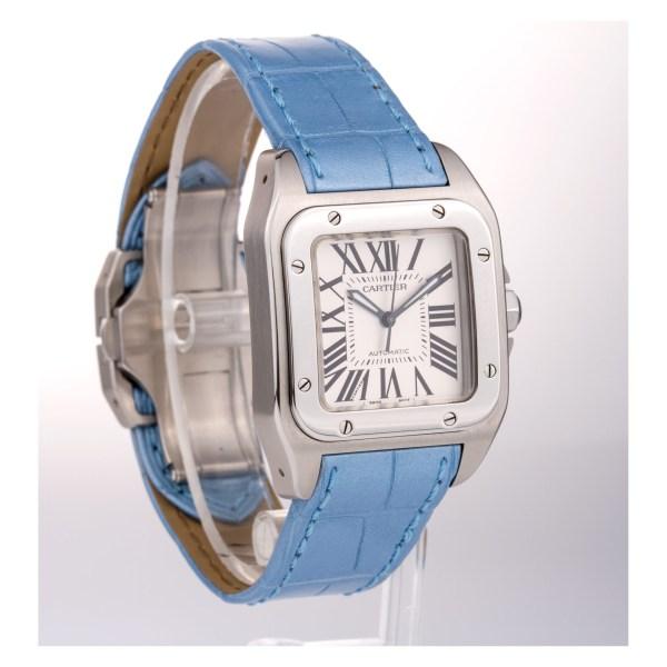Cartier Santos 100  W20106X8 stainless steel 34mm auto watch