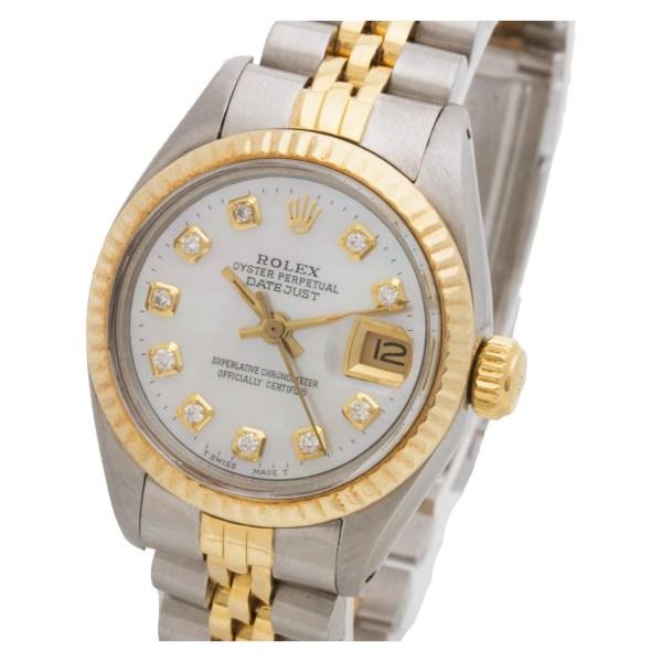 Rolex Datejust 6917 18k & steel 26mm auto watch