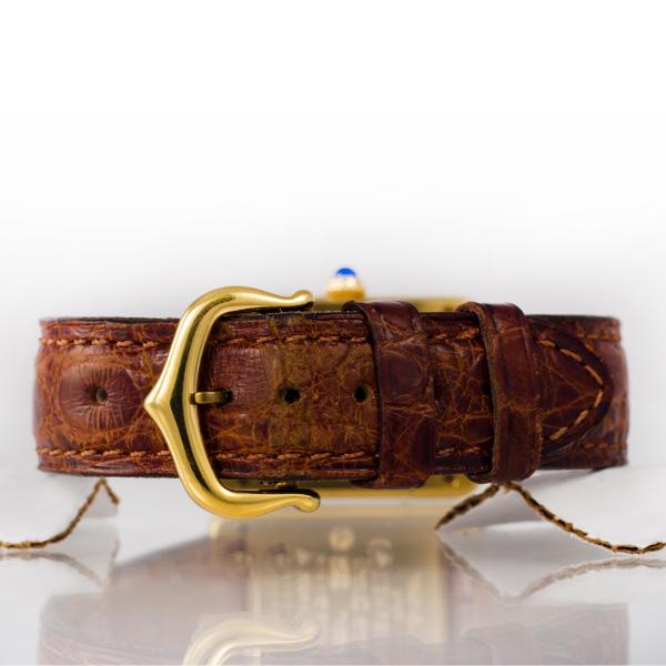 Cartier Vermeil 21094 vermeil 20.5mm Quartz watch