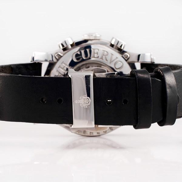 Cuervo Y Sobrinos robusto 2859 stainless steel 43mm auto watch