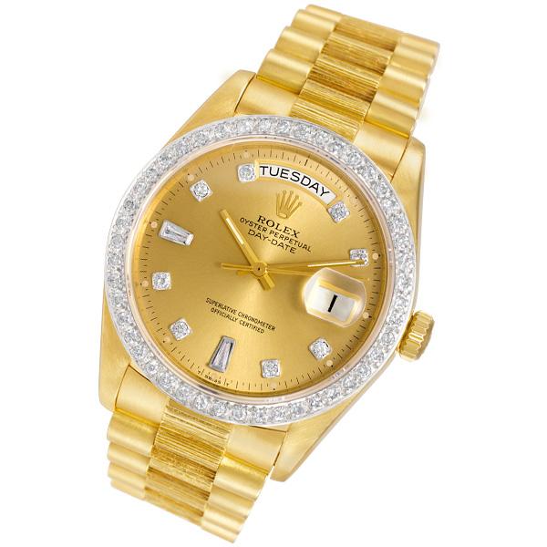 Rolex Day-Date 18978 18k 36mm auto watch