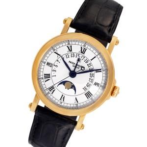 Patek Philippe Perpetual Calendar 5059 J 18k 35mm auto watch