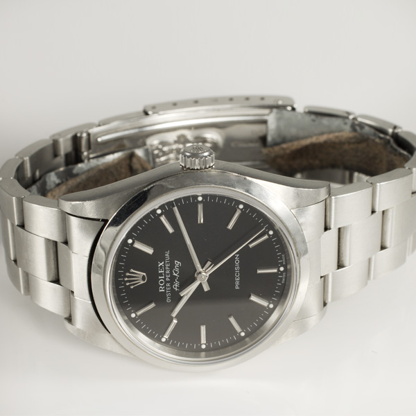 Rolex Air King 14000 stainless steel 34mm auto watch