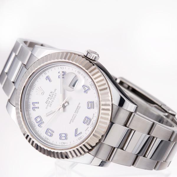 Rolex Datejust II 116334 stainless steel 40mm auto watch