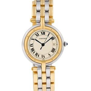 Cartier VLC 183964 18k & steel 29mm Quartz watch
