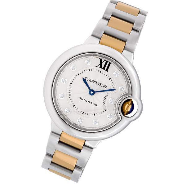 Cartier Ballon Bleu WE902044 18k & steel 33mm auto watch