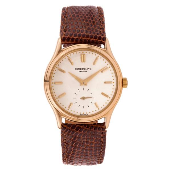 Patek Philippe Calatrava 3923 18k rose gold 31.5mm Manual watch