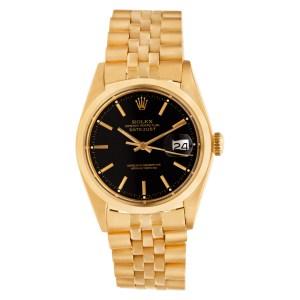 Rolex Datejust 1600 18k 36mm auto watch