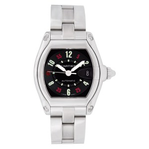 Cartier Roadster w62002v3 stainless steel 37mm auto watch
