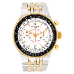 Breitling Navitimer C23340 18k & steel 45.5mm auto watch