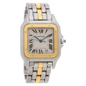 Cartier Panthere  W25028B 18k & steel 26mm Quartz watch