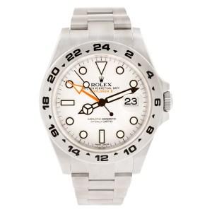 Rolex Explorer II 216570 stainless steel 41mm auto watch