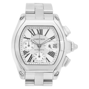 Cartier Roadster W62019X6 stainless steel 42mm auto watch