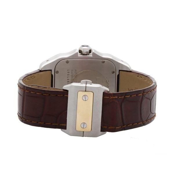 Cartier Santos 100 W20072X7 18k & steel 41mm auto watch