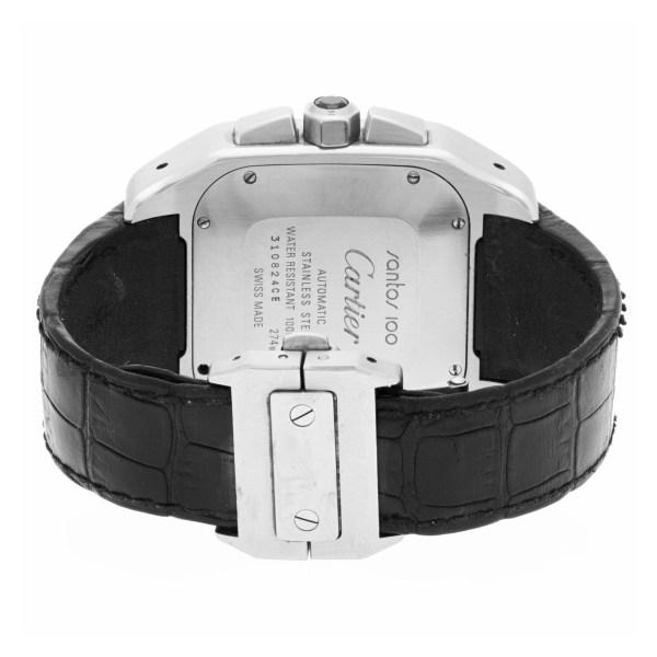 Cartier Santos 100 W20090X8 stainless steel 41mm auto watch