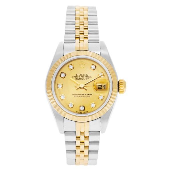 Rolex Datejust 79173 18k & steel 26mm auto watch