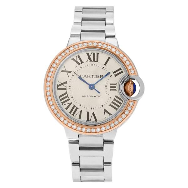 Cartier Ballon Bleu WE902080 stainless steel 33mm auto watch