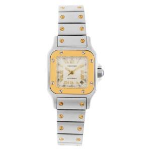 Cartier Santos W20012C4 18k & steel 24mm auto watch