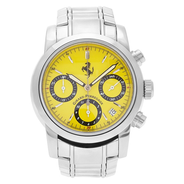 Girard Perregaux Ferrari 8020 stainless steel 36mm auto watch
