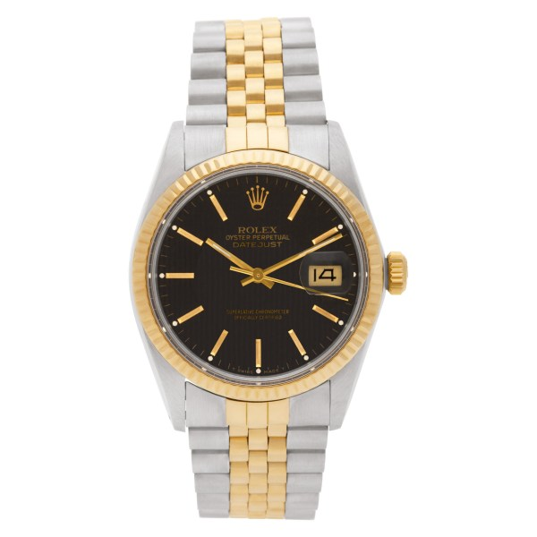 Rolex Datejust 16013 18k & steel 36mm auto watch